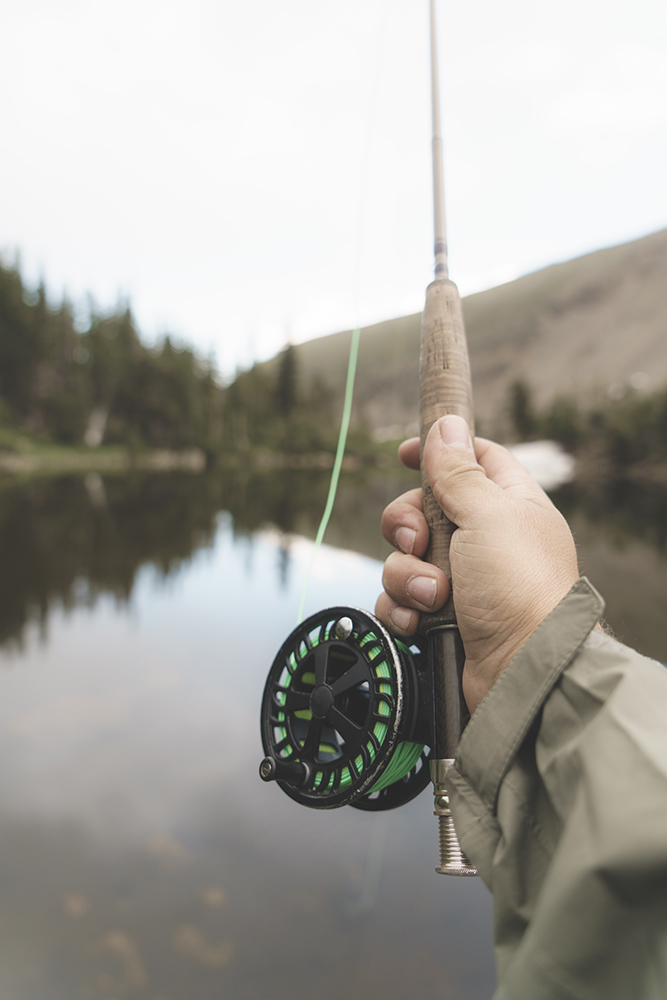 . Salmon Fishing . -