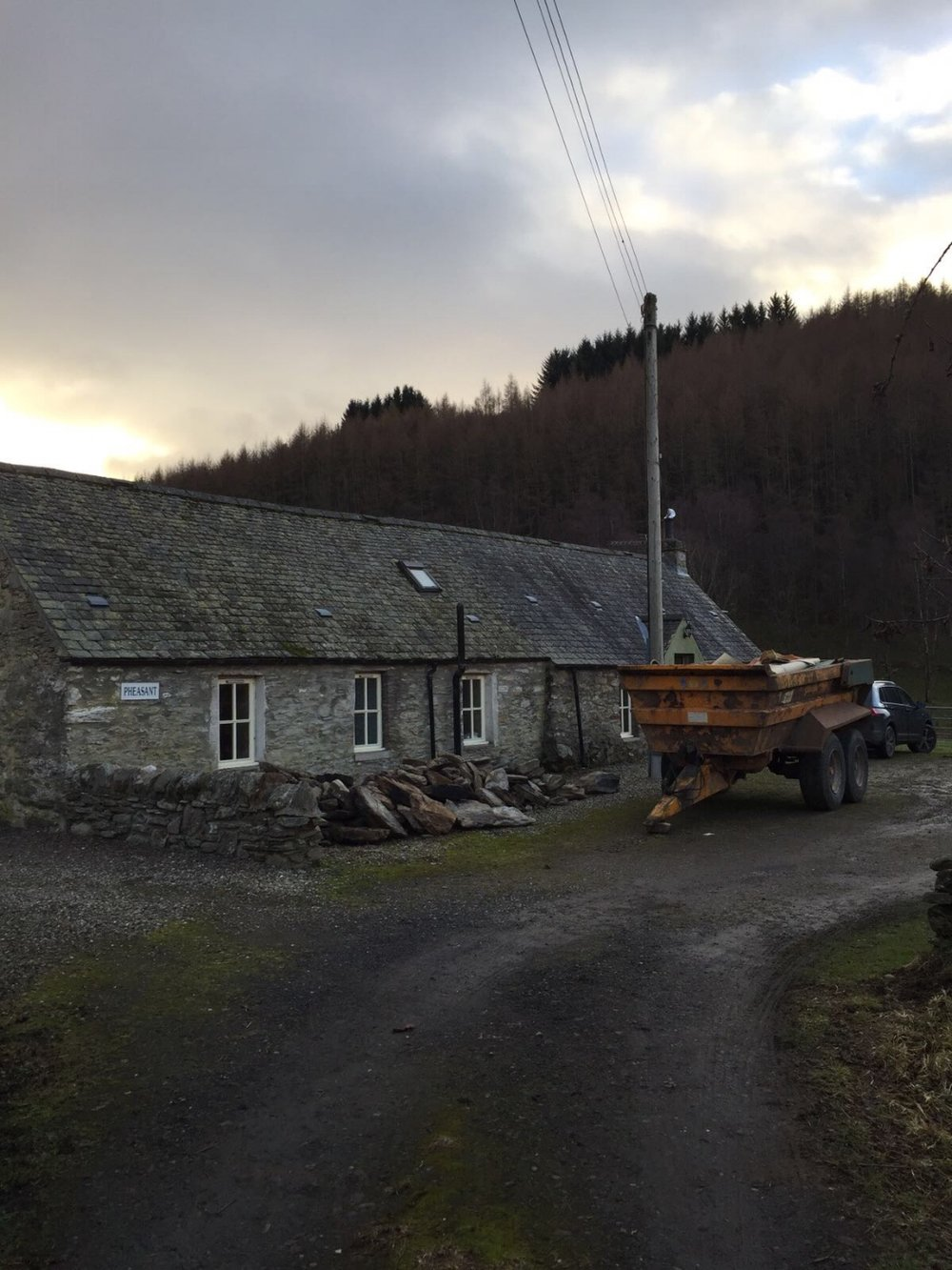 luxury self catering holiday cottage Perthshire, scotland