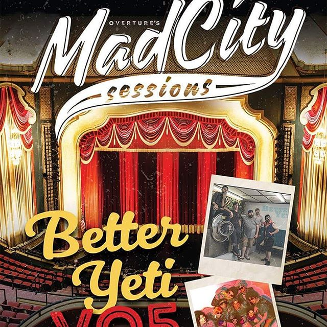 Madcity Sessions Nov. 9 @overturecenter with Vo5