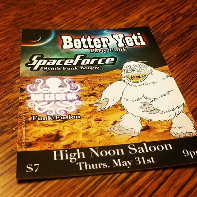 Looking to getting down with @wurktheband and SpaceForce at @highnoonmadison this Thurs!  @capt.smooth