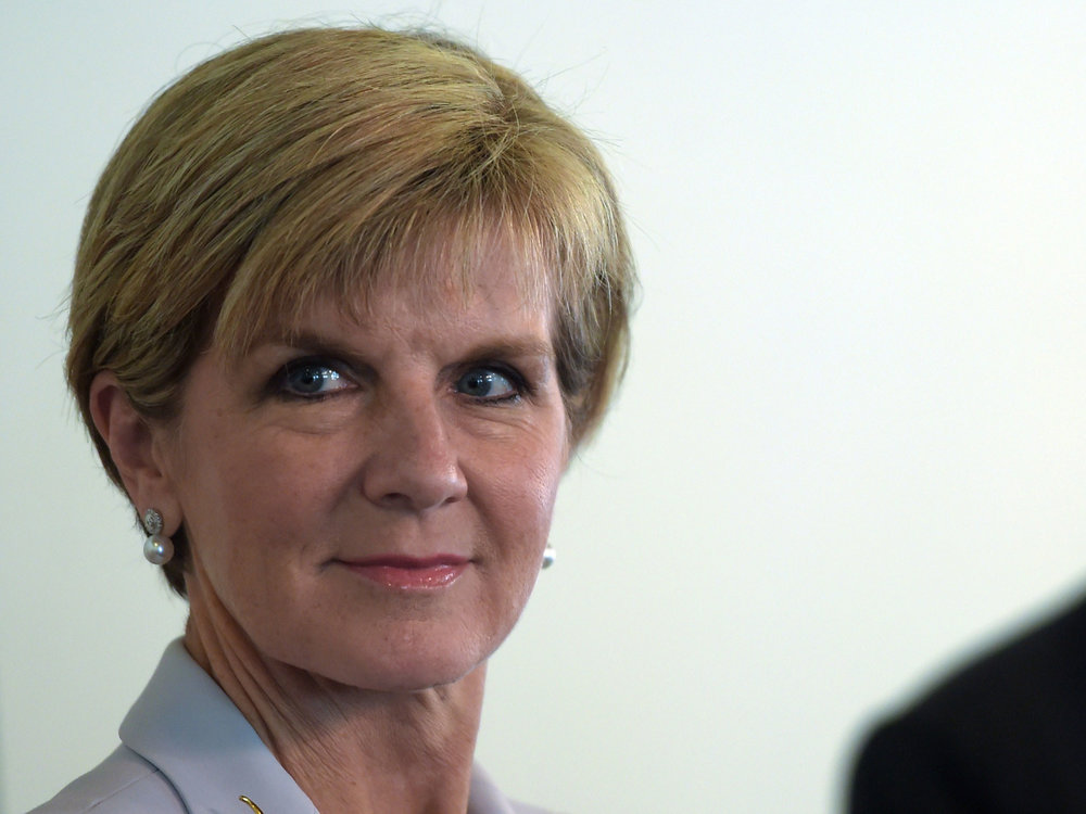 Julia Bishop for PM IMO. Credit:  Independant