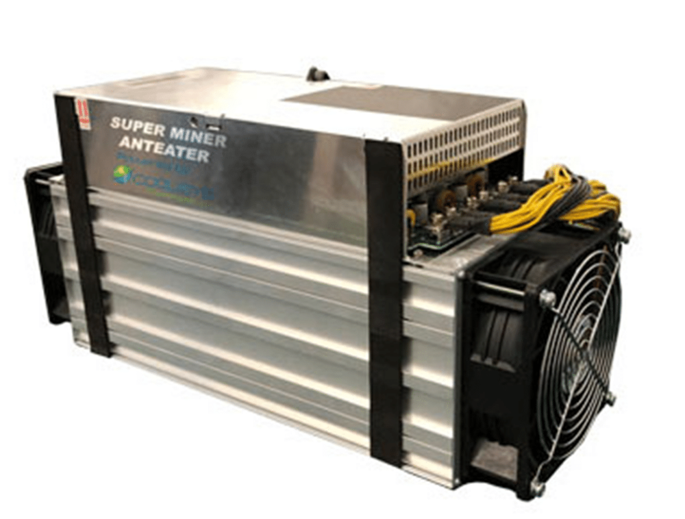 The DPW Holdings mining facility will utilize AntEater miners created in conjunction with Samsung Semiconductor Global. (Image Credit: Superminer)