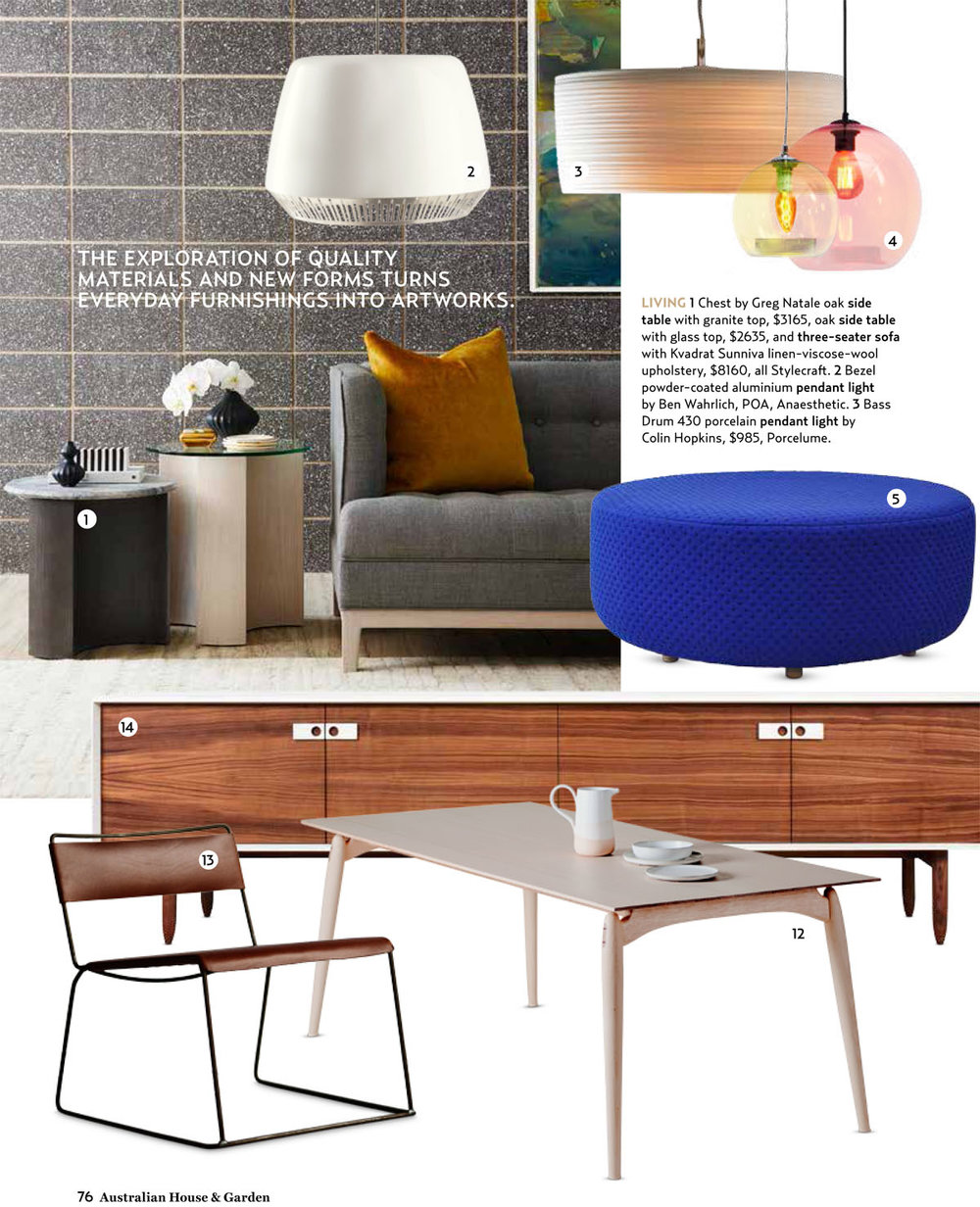 December Issue - House & Garden - H&G Style Awards 2014 Coco ottoman