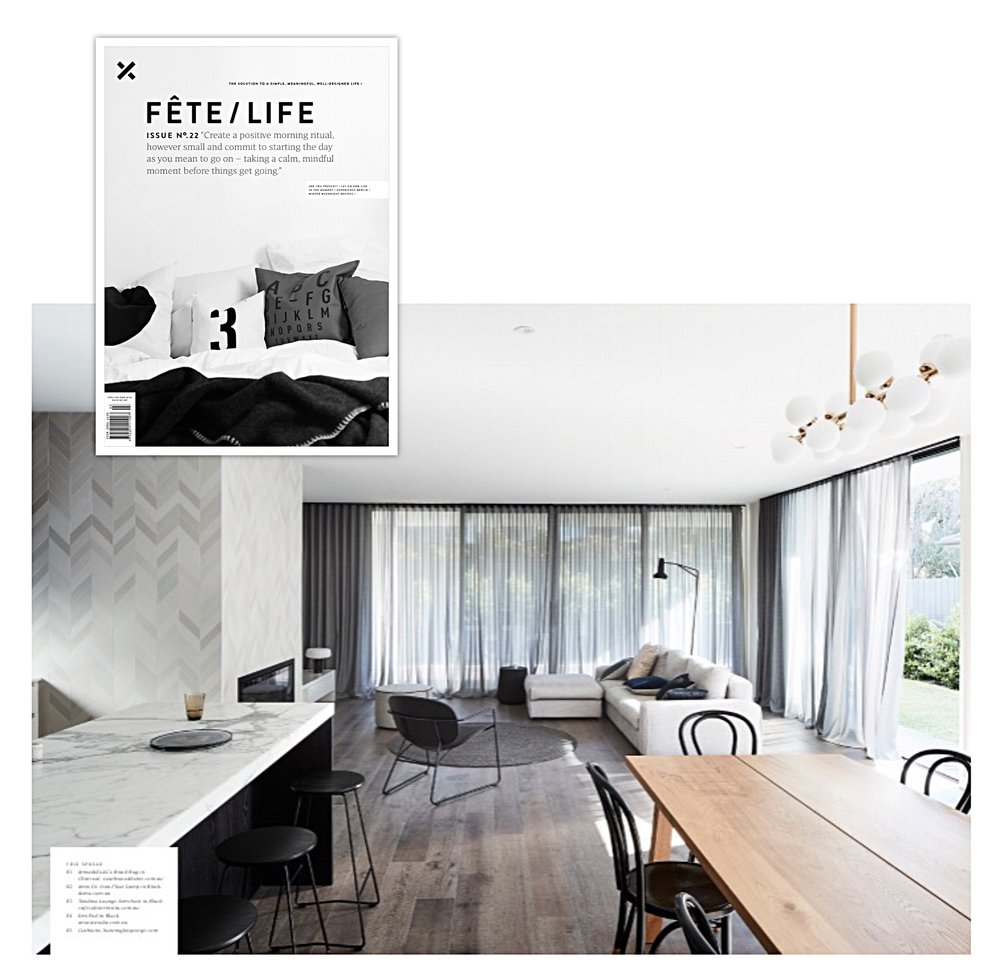 Fete Magazine - Issue 22 - Jul 2017 - Emi stool in Inform project