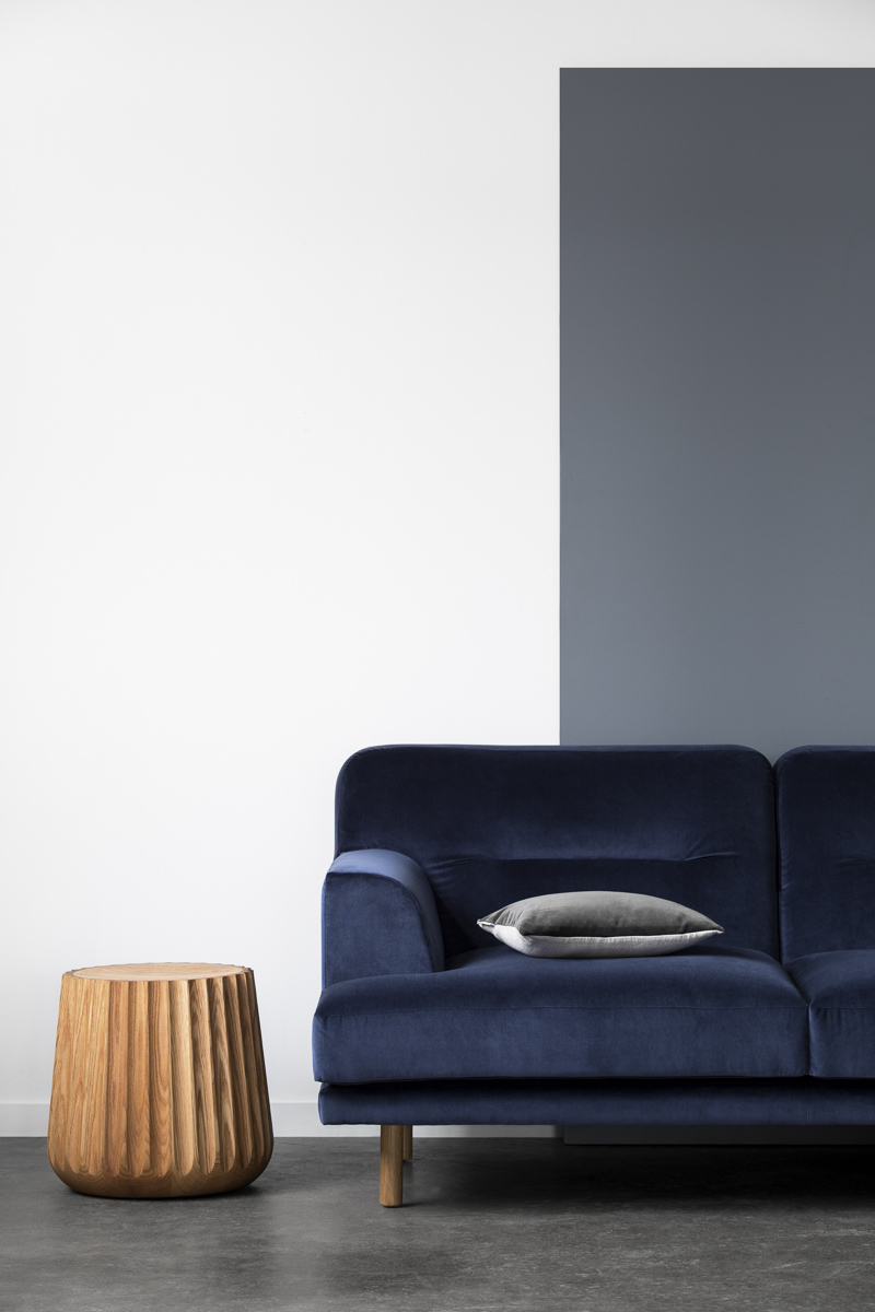 Camille armchair as part of the Camille sofa range. Inspired by Scandinavian style and modernist aesthetics. It is versatile and timeless, with a high focus on comfort and details.