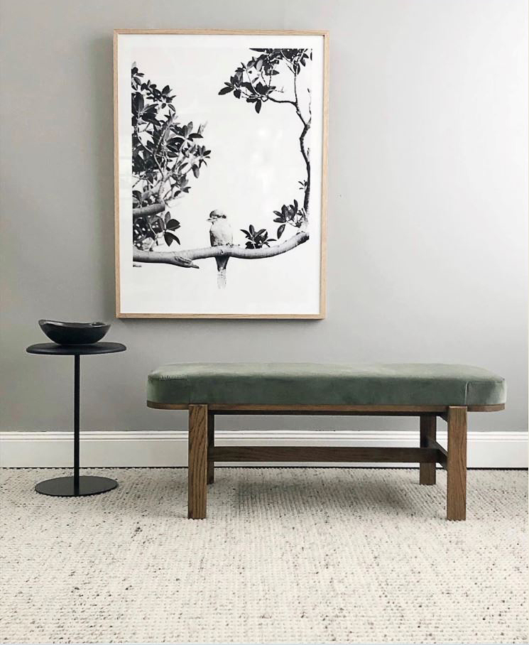 Flo ottoman - end of bed bench
