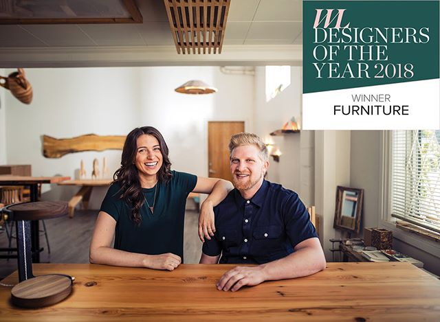 We are so honoured to be the @westernliving Furniture Designers of the Year for 2018. Somebody pinch us! ===== It is crazy to have been considered among the extremely talented finalists in this category. We'd like to express our gratitude to the amazing design community we are so lucky to be a part of here in Vancouver and in Western Canada. Thank you to the judges and to Western Living, this is a dream come true. ❤️ #wldoty #westernliving ===== 📷 by @carloricci 👌, article link in bio.