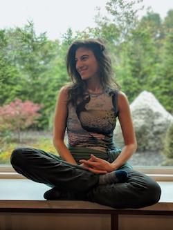 Michelledana Shafran, creator of Yogabundance