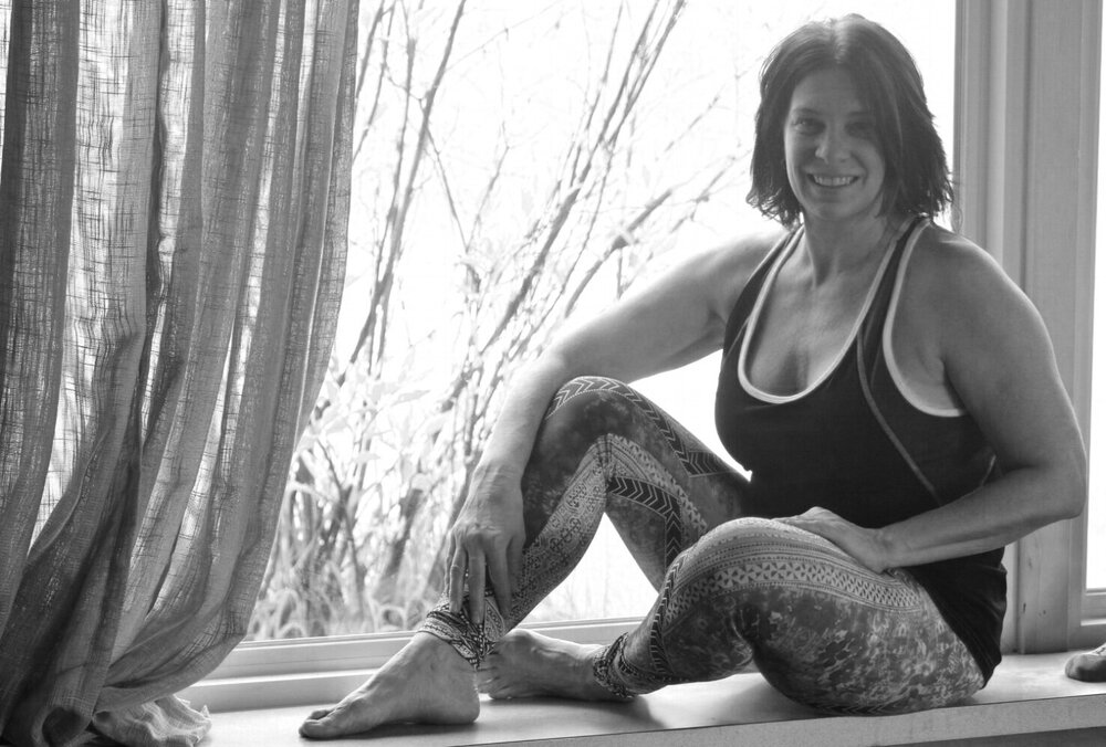 I really like how the teachers work with you and adjust you.  Yoga has benefited my whole body, it's even helped me with my job.  - Kelly