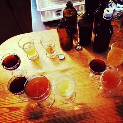 Many recipes, tweaking and tastings create great beer!