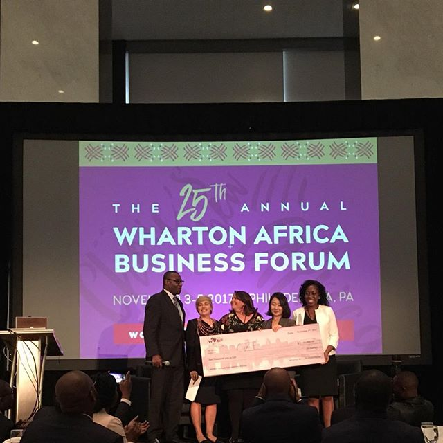 Please join us in congratulating the #WABF25 Venture Competition winner: Ozé! • #WABF #myAfricastory #philadelphia #ContinentalConversations