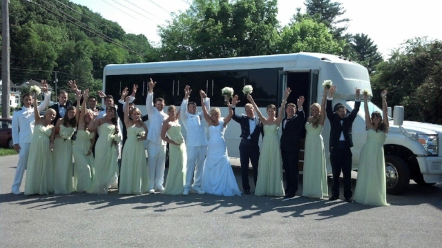 Wedding Transportation and Travel Party Bus