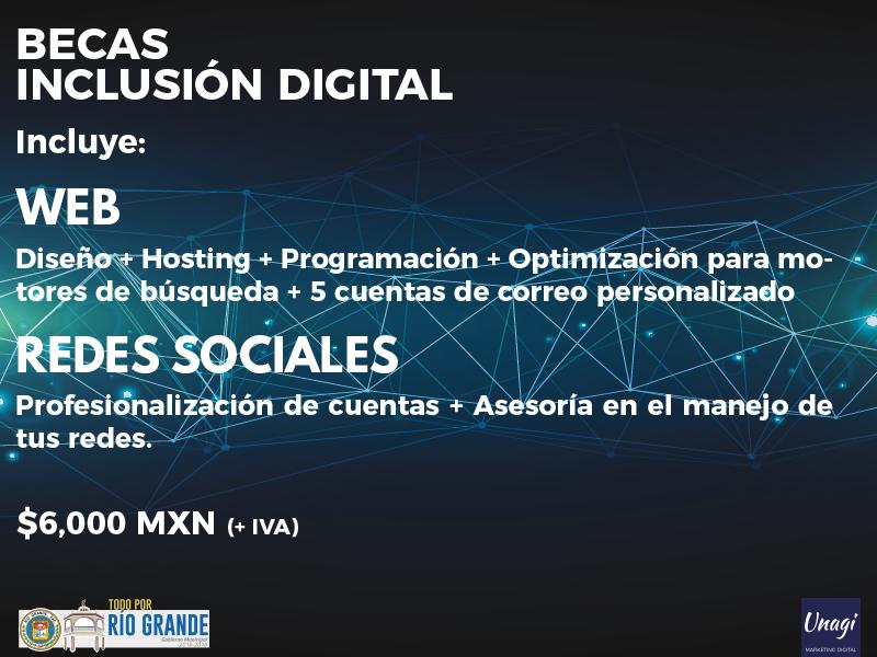 Unagi Becas de Inclusión Digital Zacatecas