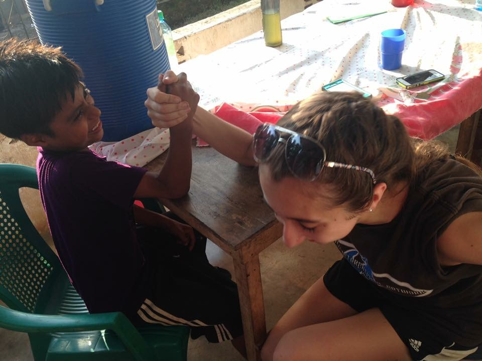 Arm wrestling (and losing) with Edy