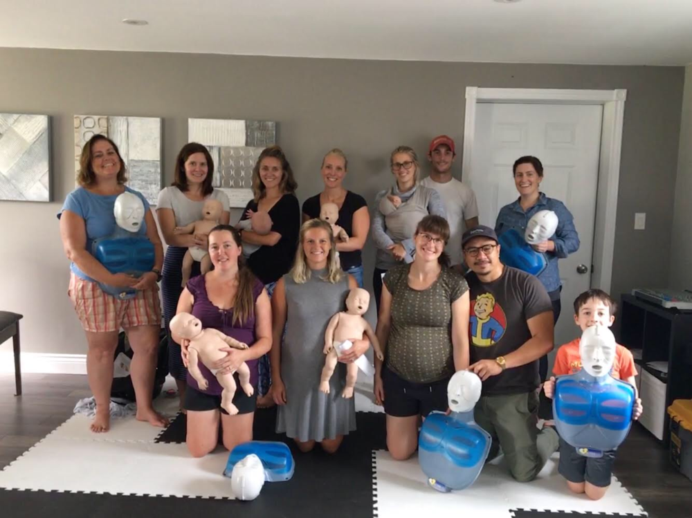 Experienced parents, new parents, soon to be parents, grandparents and neighbours coming together to review CPR and Choking Skills - Location: Soundspeaks Music Therapy Studio, Douro-Dummer ON