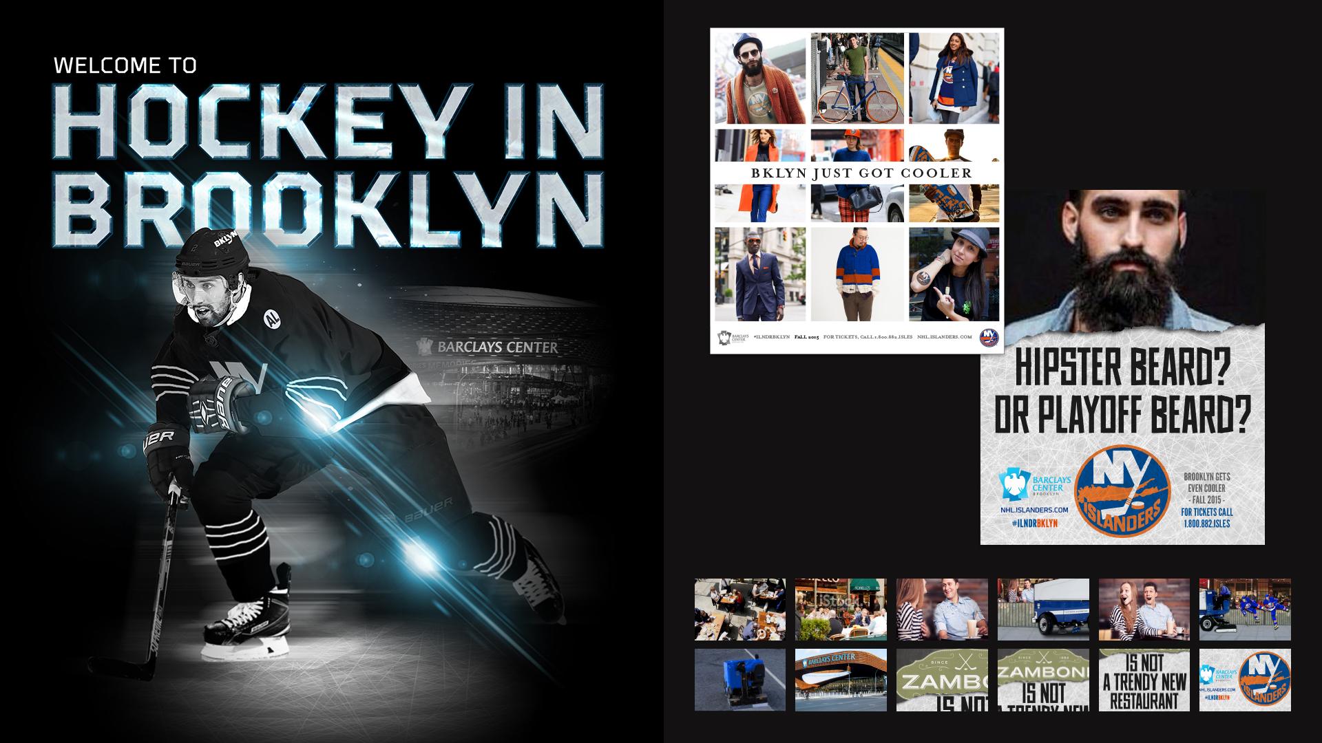 Creds - NY Islanders Creative Direction — Megan Langle
