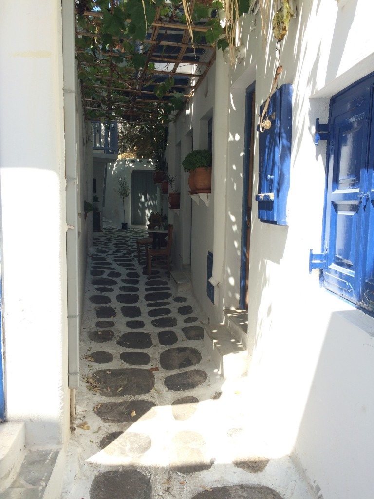 Mykonos - Where will it lead me?