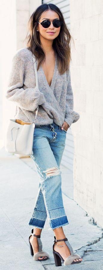 stylish sweater