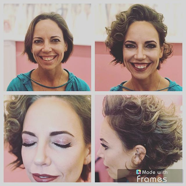 Kill'in it!  #tdbrocksbeauty  #eventmakeupandhairbyrichelle
