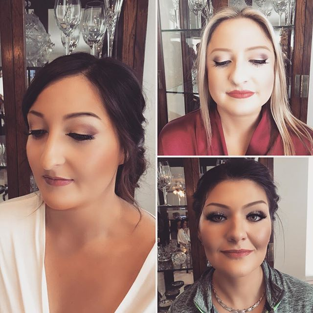 Another busy weekend for The Decorated Bride. Wedding bells + Christmas wishes...we do beauty, no matter the season! Makeup by Bailey #tdbrocksbeauty  #closingout2017  #muabaileyp #renoweddings2017