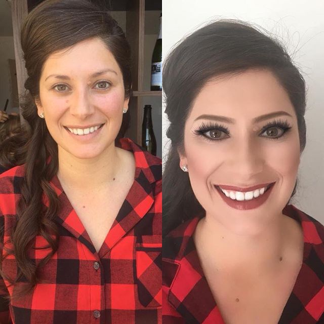 Just one of the many beautiful faces created this weekend by artists of The Decorated Bride! Makeup by Bailey Polifka  Hair by Esmeralda #tdbrocksbeauty  #laketahoewedding2018 #tdblovesbeauty