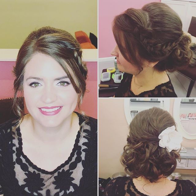 Crazy beautiful! Another trial run for the books. Hair by Jessica for TDB Makeup by Shannon for TDB #TDBbeautyrocks #tahoeweddinghairandmakeup