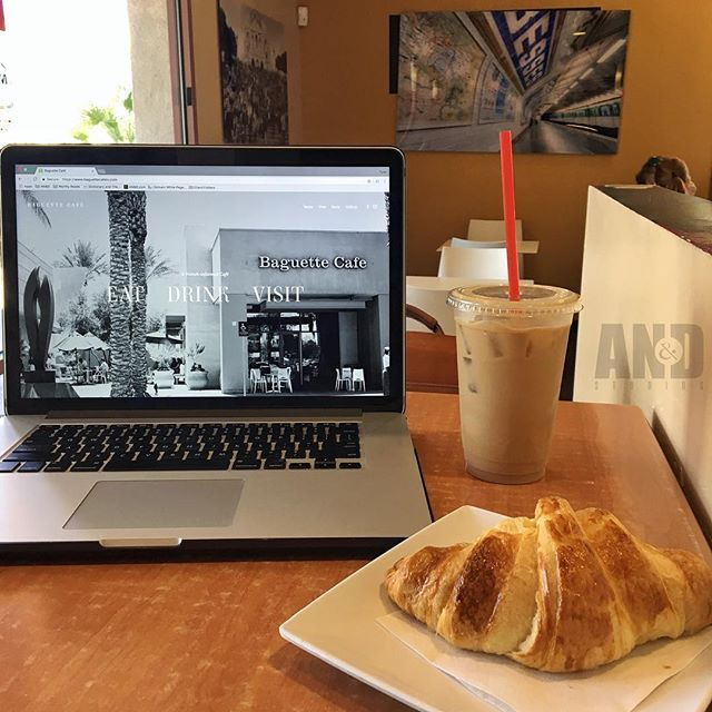 ______ EAT • DRINK • WORK ______ It's our passion to server you the flavors you need to motivate your passion. #FrenchFlavor #BaguetteCafe #LasVegas #café #baguettecafelv #coffeeshop #caffeineboost #lasvegascityguide #nationalcoffeeday