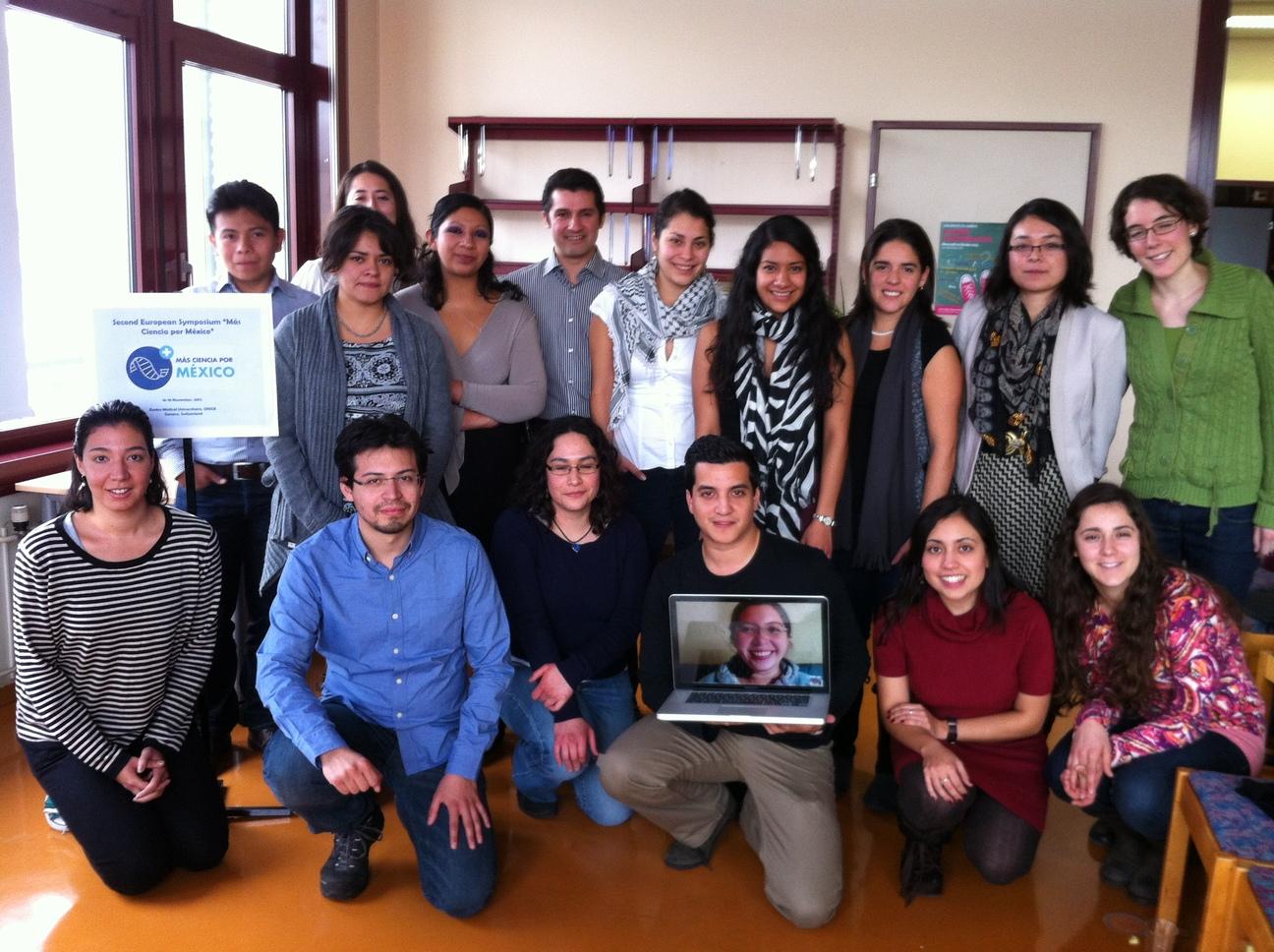 No importa en qué lugar del mundo vivas. Si compartes nuestros objetivos e intereses, eres bienvenido a formar parte del proyecto. En noviembre del año pasado, algunos de nuestros miembros viviendo en Europa asistieron a una reunión de Más Ciencia por México en Ginebra.