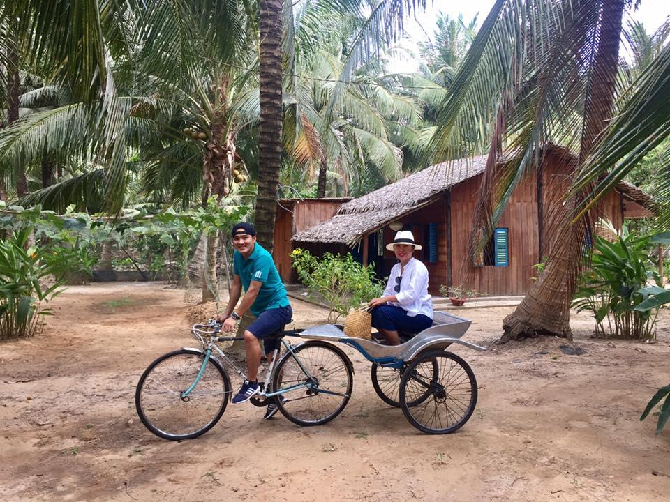 le donnelly coconut hut ben tre me kong delta vietnam