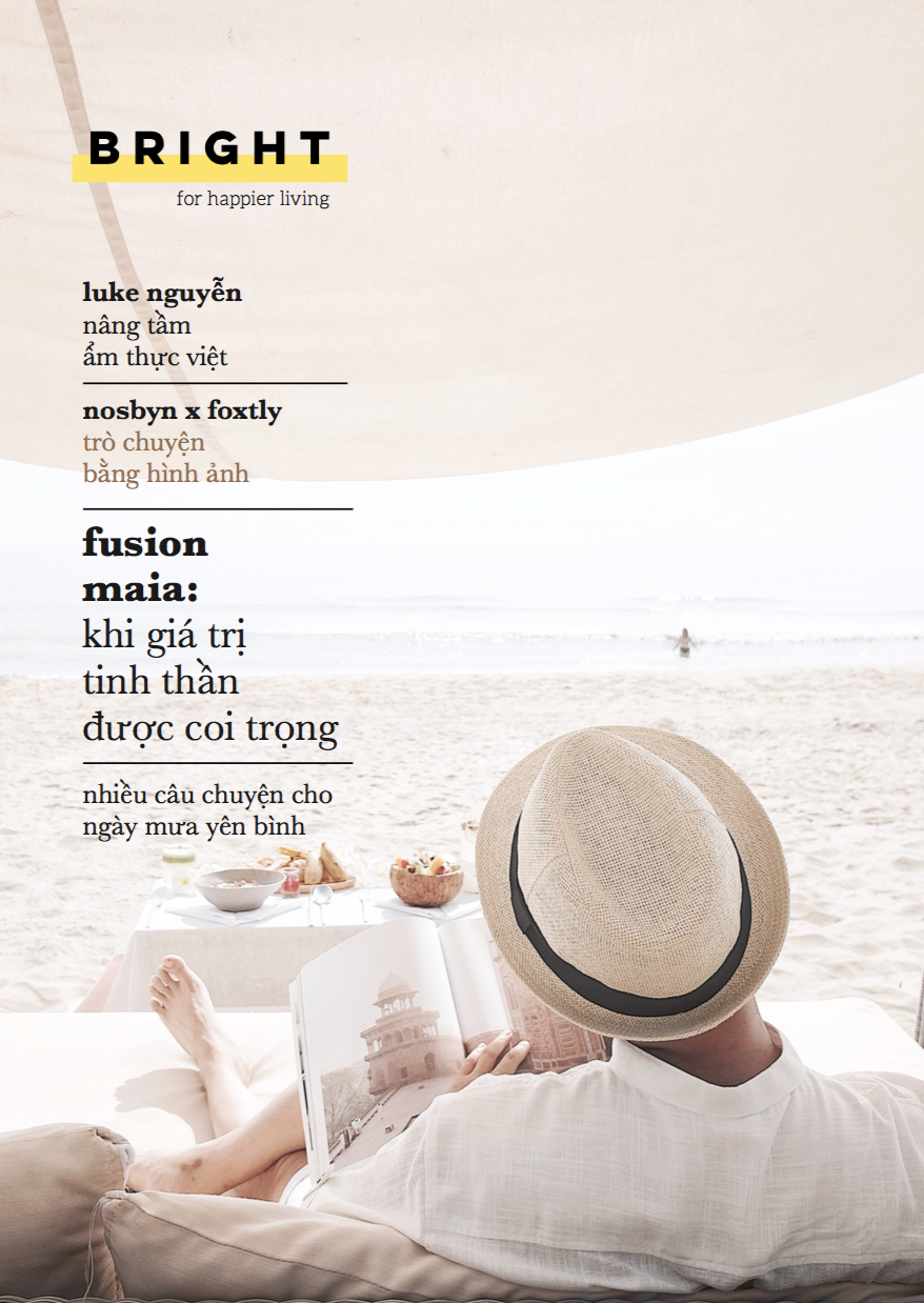 Bright magazine 1: Let It Rain