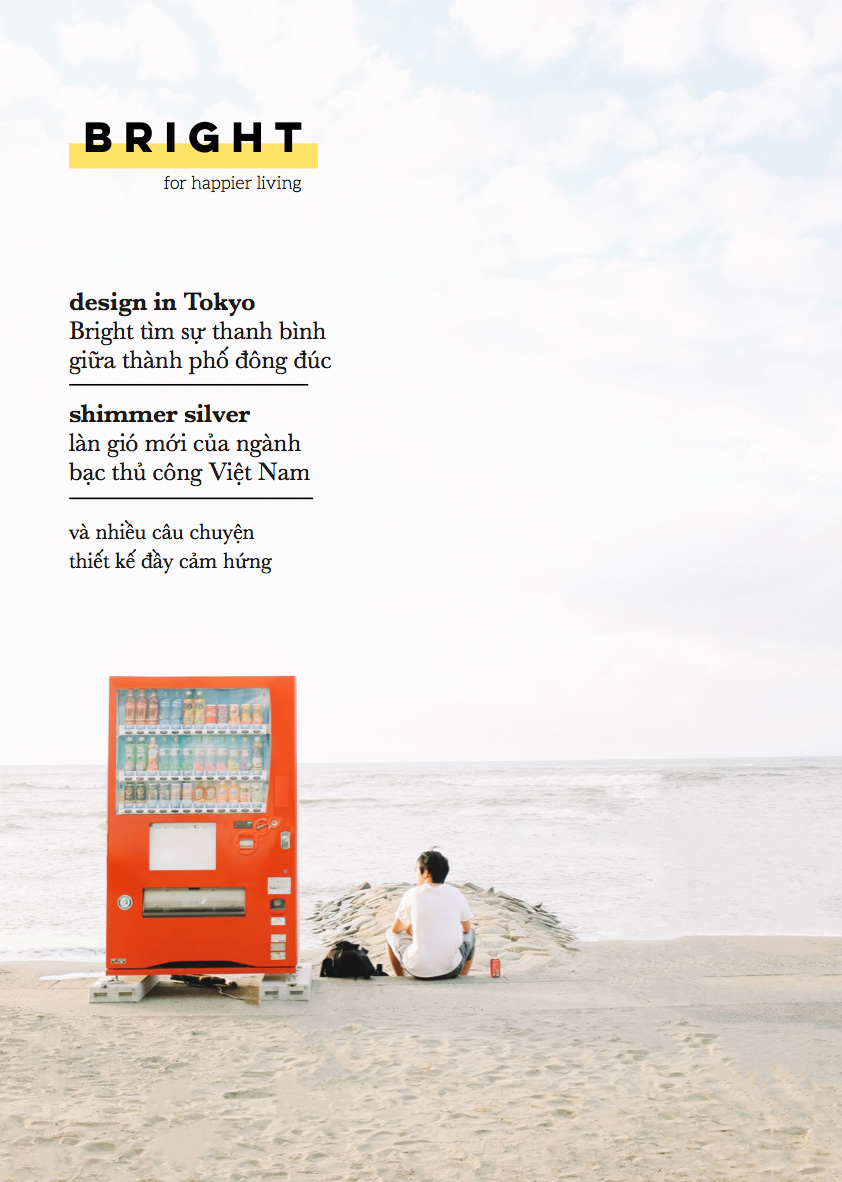 "Bright Magazine Tháng 12: ""  The Design Issue"""