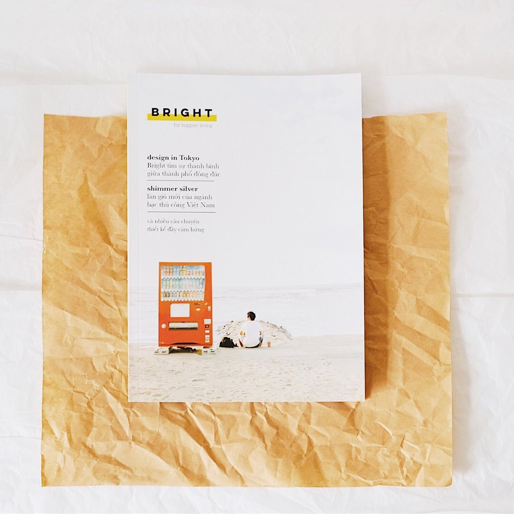 Bright magazine Tháng 12: The Design Issue
