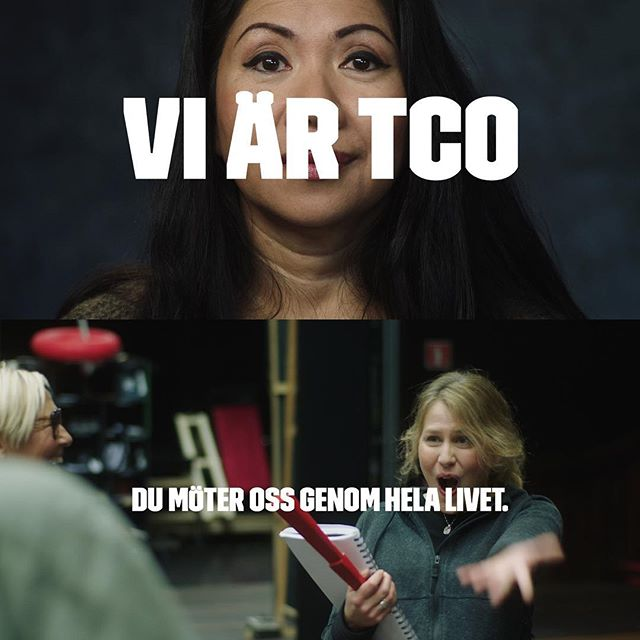 "I am happy to announce that the campaign ""Vi är TCO"" where I was responsible for creating the film content is now nominated for a Columbi egg! 🥚 🔥  Thank you @itsreformact and @tcosverige for the trust. And also my amazing film team @lindalaxen @karlsundin @johanselin @gustavnord @jbzor @makebyztirl @undertondotcom"