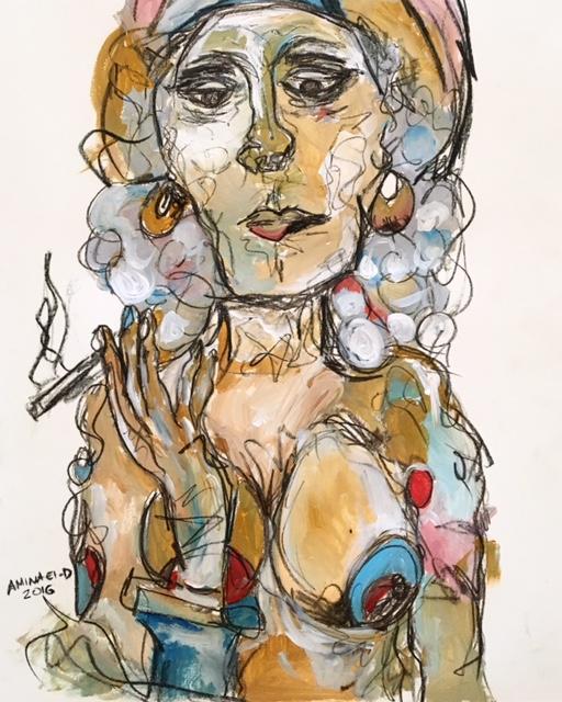 The Smoker 70cm * 50cm 2016