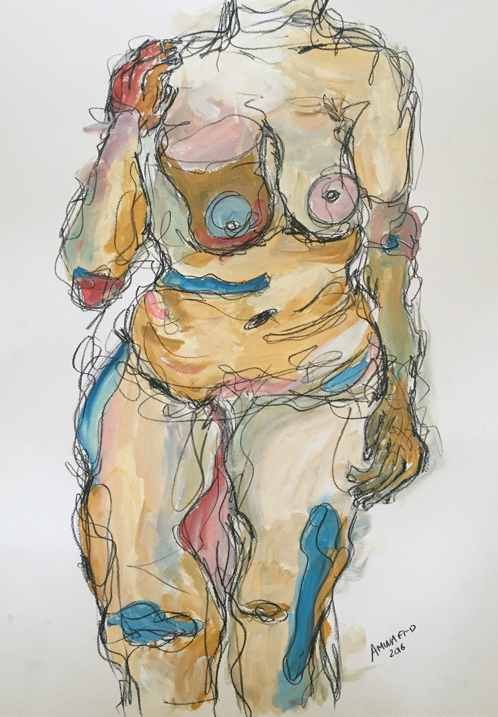 Nude II  70cm * 50cm 2106