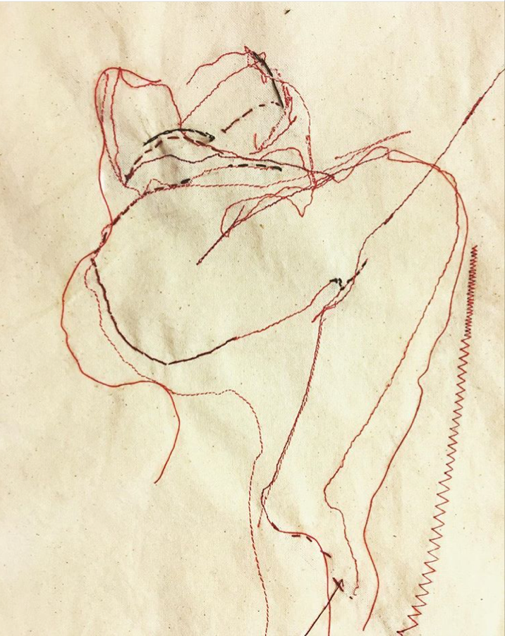 Embroidery sketch
