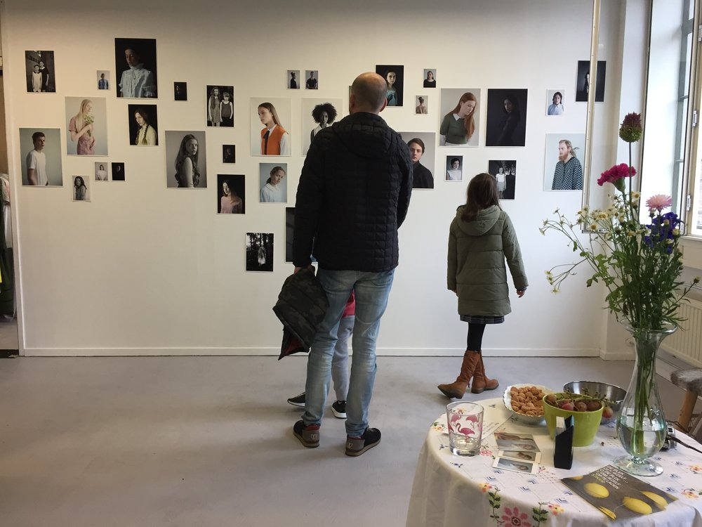 Looking at my work
