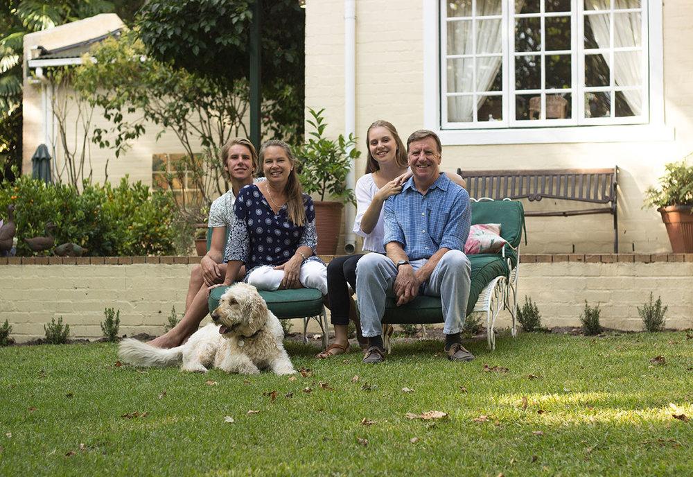 Family accommodation in Noordhoek