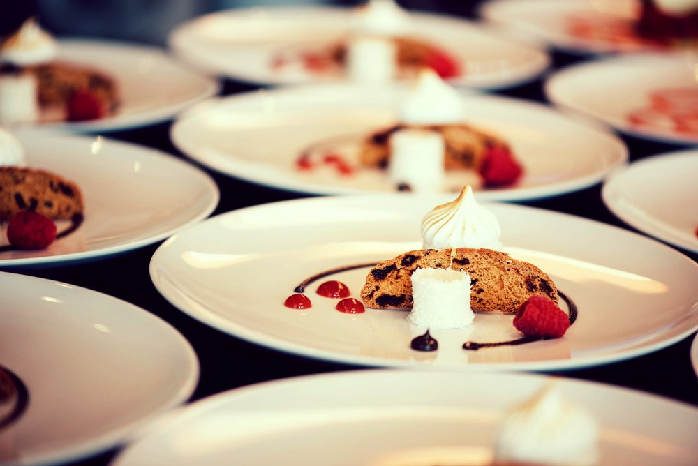 Corporate & private catering - From gala balls and christening feasts, to canape receptions and BBQ celebrations, we offer a variety of services to make your event memorable and delicious.