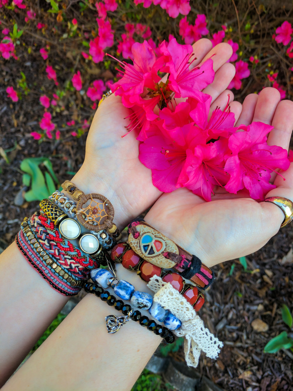 Becoming Bohemian reviews boho bracelets from Aura Stone Designs (2).jpg