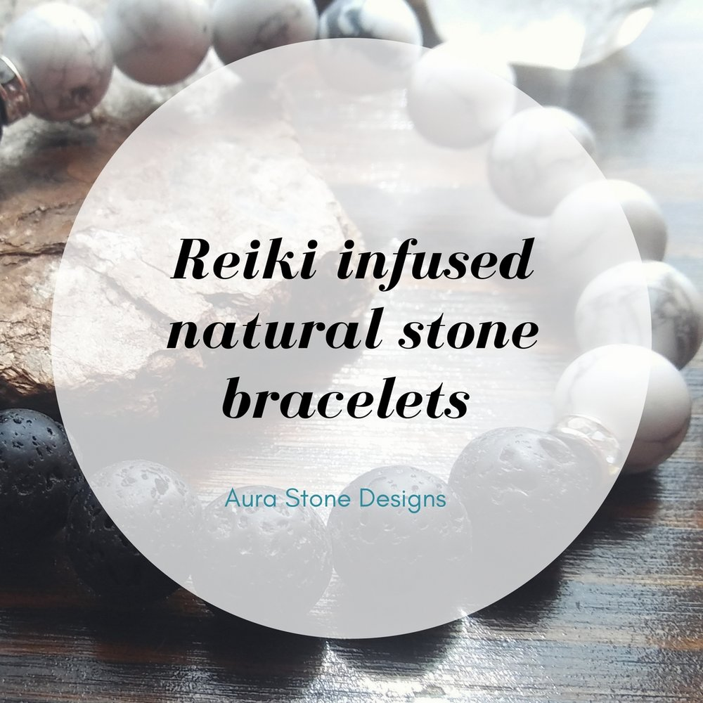 Reiki infused Yoga bracelets