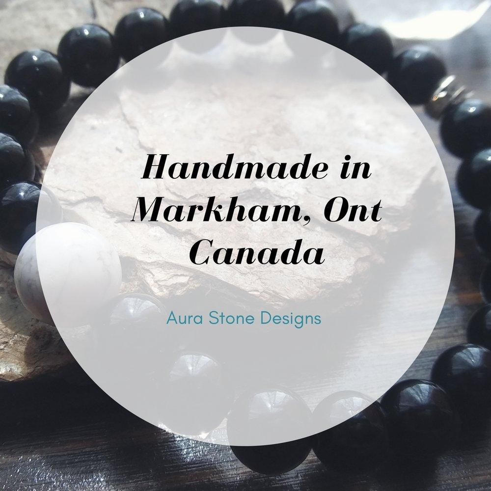 Handmade artisan bracelets from Canada