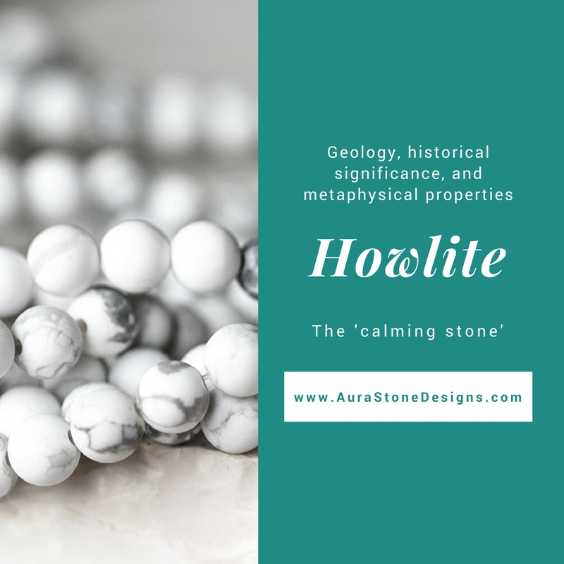 Howlite - the calming stone - If you've been on Instagram you know that marble has been popping up in all the fashion bloggers overlays. It's a huge trend - it looks luxuriousness and classy. Howlite in bracelets is very similar. Crisp white with gorgeous grey veining. We predict Howlite bracelets will be the next trend with fashion bloggers and Instragram sweethearts.