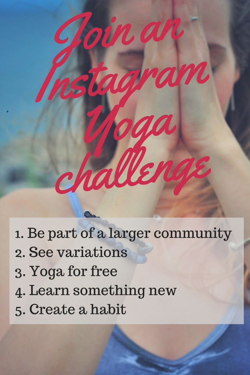 5 reasons you need to join an Instagram yoga challenge