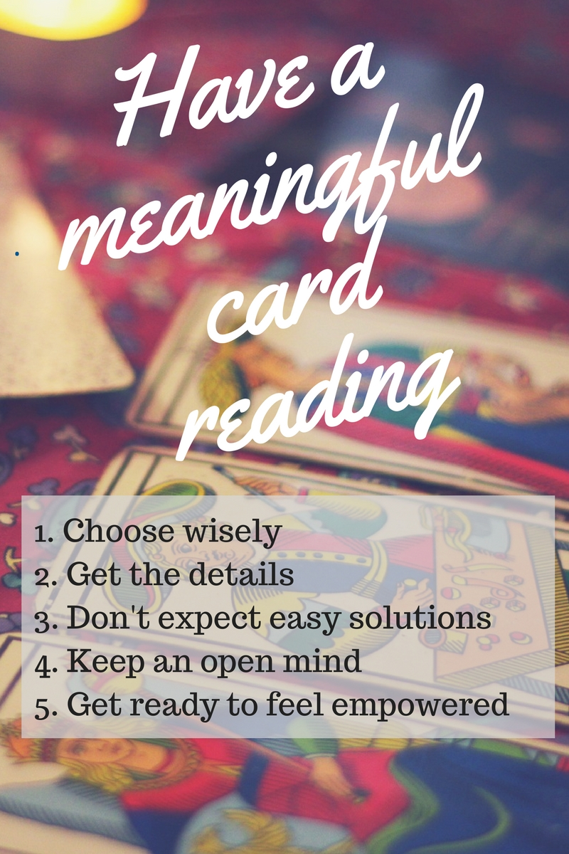 Have a meaningful tarot card reading