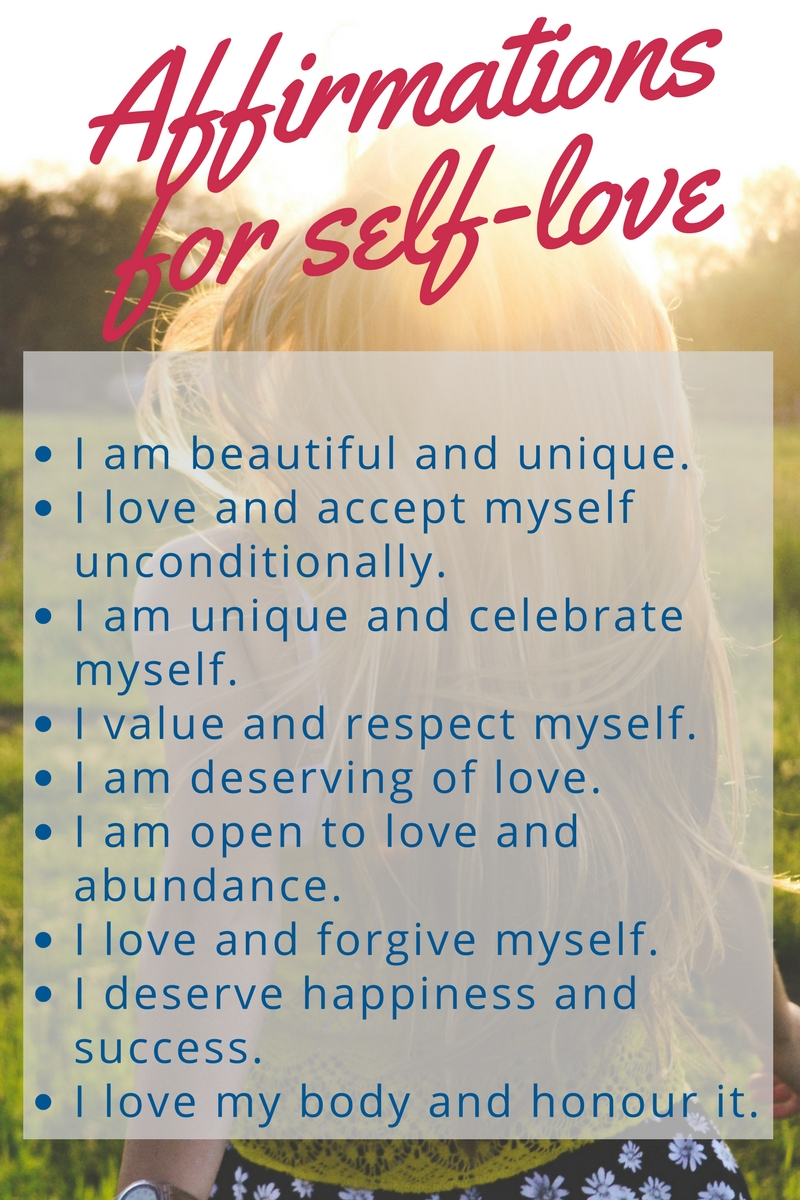 Affirmations for self-love