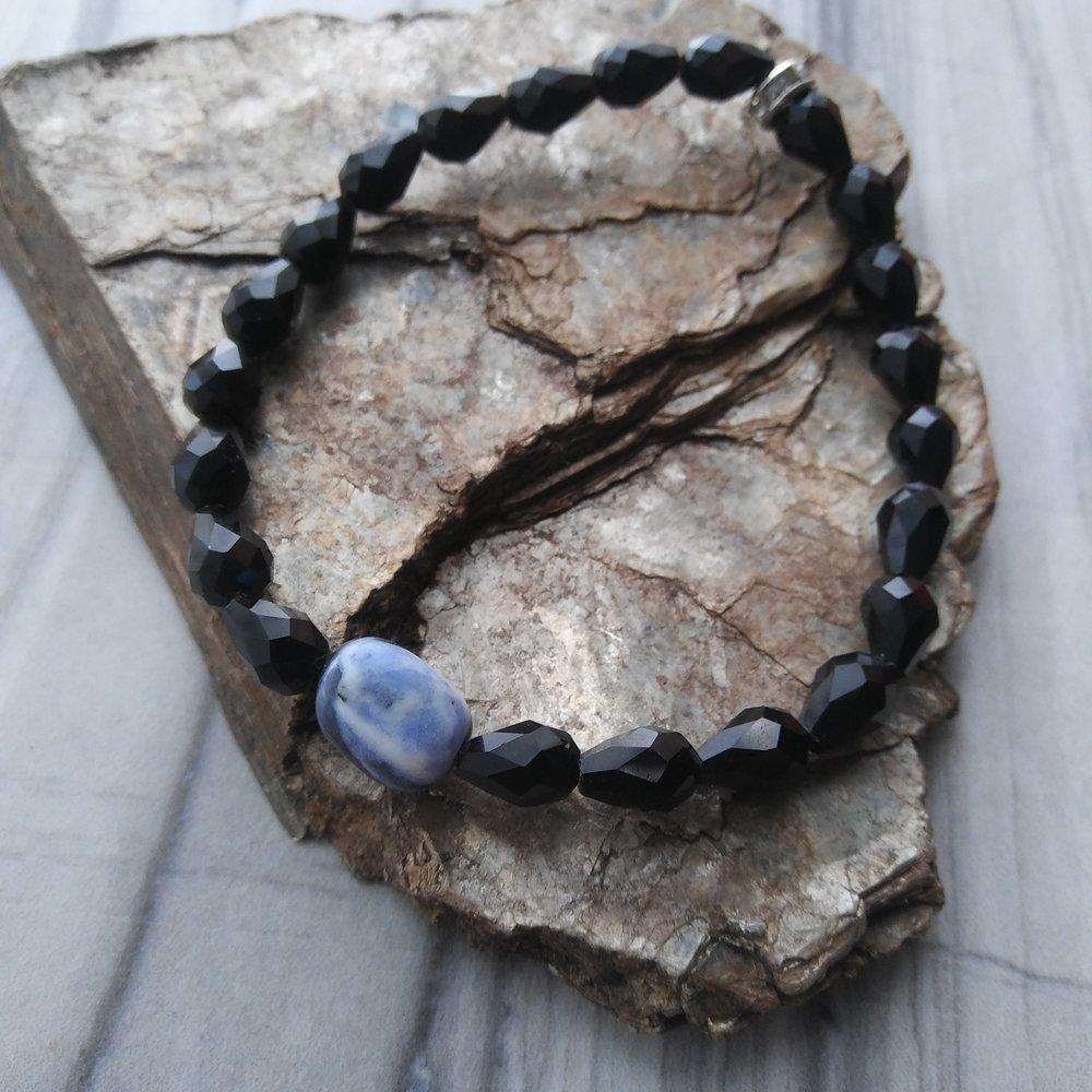 Sodalite yoga bracelet by Aura