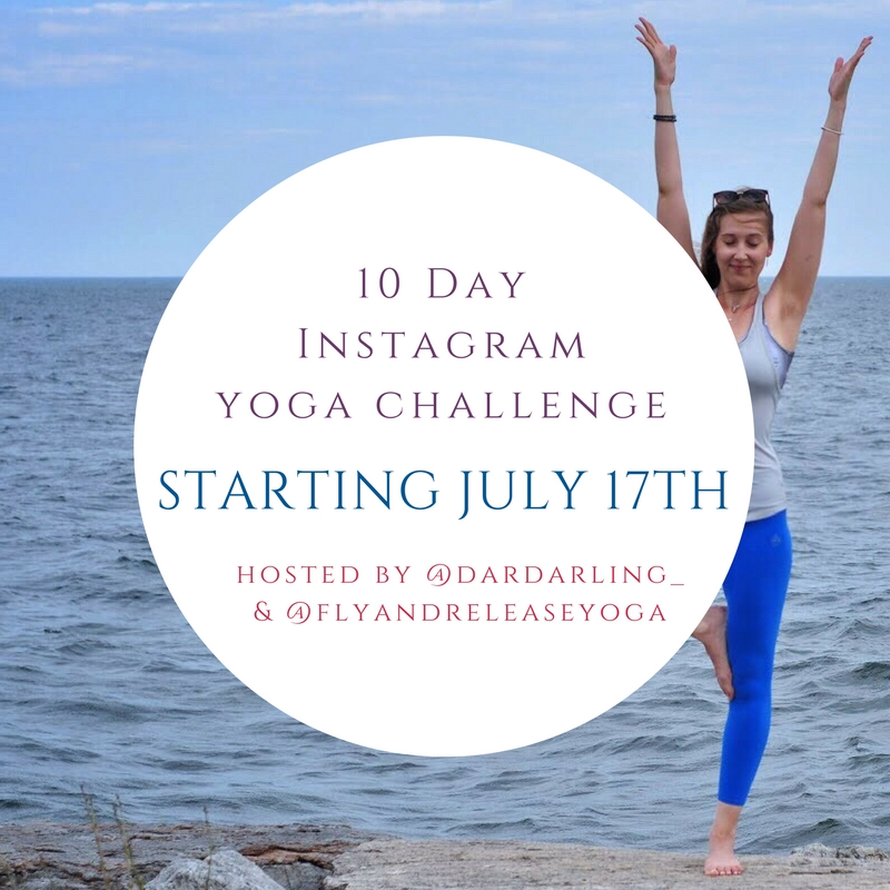 10 day Instagram yoga challenge - Darya explains why you should give a yoga challenge a try