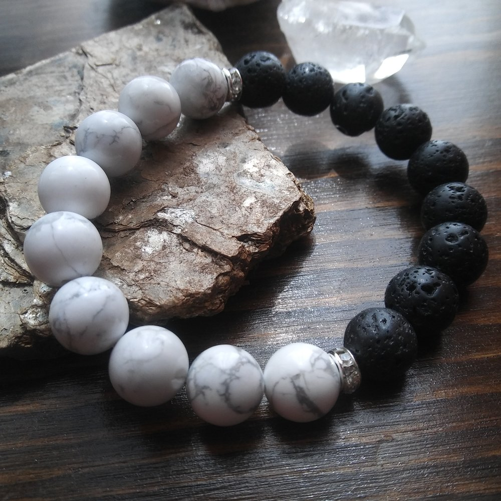 Aura gemstone bracelet store