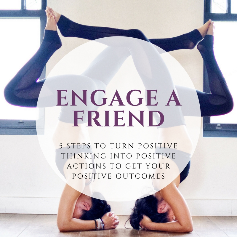 4. Engage a friend - Even the most driven and self-propelled amongst us needs a cheering squad!  Don't go it alone!  Once you've established your goal, tell a friend, or post it publicly on your IG or FB page!  If I tell someone (a friend, the teacher, etc.) that I'll see them at yoga the next morning, its so much harder to hit the snooze button.  Accountability works wonders and everything is more fun with a friend by your side.